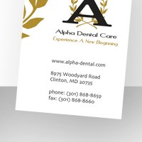 Stationery thumbnail for Alpha Dental Care