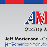 Business card thumbnail for American Manufacturing Company