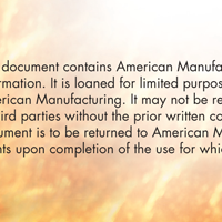 Flyer thumbnail for American Manufacturing Company