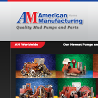 Website for American Manufacturing Company portfolio at The Peripheral Vision