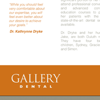 Brochure thumbnail for Gallery Dental Duluth