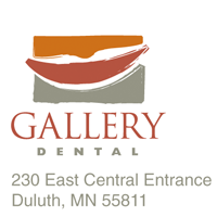 Postcard thumbnail for Gallery Dental Duluth