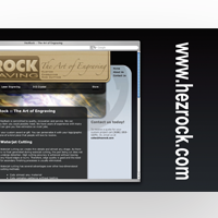 Webcard thumbnail for Hezrock Engraving