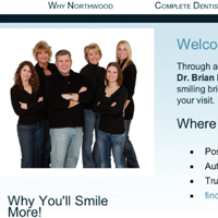 Webcard thumbnail for Northwood Cosmetic Dental Group