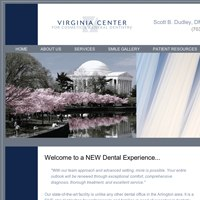 Website thumbnail for Virginia Center For Cosmetic & General Dentistry